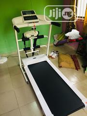 White Color 2.5hp Treadmill With Massager | Sports Equipment for sale in Lagos State, Magodo