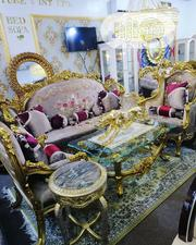 3 Turkish Sofa Set With Table And Stool | Furniture for sale in Rivers State, Port-Harcourt