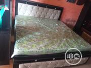 6ftx6ft High Quality Beautifully Design Bed, Mattress 2side Cupboard | Furniture for sale in Rivers State, Port-Harcourt