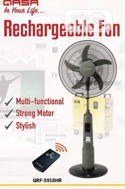 "18"" Qasa High Quality Rechargeable Standing Fan 