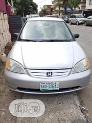 Honda Civic 2004 1.4i S Silver   Cars for sale in Lagos State, Surulere