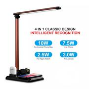 4 In1 Wireless Charger Led Desk Lamp Luminaria Multifunction Led | Accessories for Mobile Phones & Tablets for sale in Lagos State, Ikeja