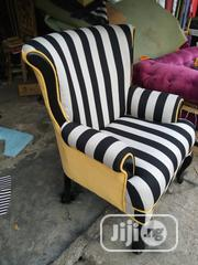 Stripe Arm Chair | Furniture for sale in Lagos State, Ipaja