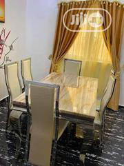 High Quality Smart Marble Dining Table By-6 | Furniture for sale in Rivers State, Port-Harcourt