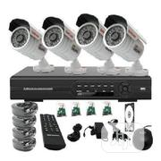 CCTV 4 Channel 4 Camera Kit | Security & Surveillance for sale in Lagos State, Mushin