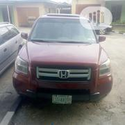Honda Pilot 2006 EX 4x4 (3.5L 6cyl 5A) Red | Cars for sale in Rivers State, Port-Harcourt