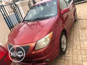 Pontiac Vibe 2006 AWD Red | Cars for sale in Abuja (FCT) State, Durumi