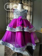 Children Ball Dress (POSH MAGENTA DRESS) | Children's Clothing for sale in Lagos State, Ajah
