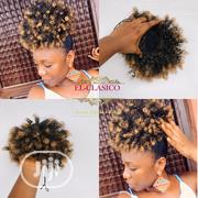 Ponytail Wig, Drawstring Ponytail, Afro Bun , Curly Ponytail | Hair Beauty for sale in Rivers State, Oyigbo
