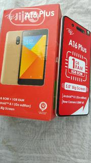 New Itel A16 Plus 8 GB Gold | Mobile Phones for sale in Lagos State, Ajah