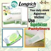 Longrich Superbklean Pantyliner Pack(16) | Bath & Body for sale in Lagos State, Ikeja