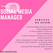 Social Media Manager   Computer & IT Services for sale in Lagos State, Ikeja