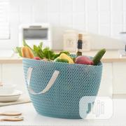1 PC Large Capacity Plastic Storage Wicker Basket For Food Shopping | Kitchen & Dining for sale in Lagos State, Lagos Island