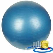 75cm Exercise Gym Ball With Foot Pump | Sports Equipment for sale in Lagos State