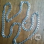 Original Italy 925 Pure Silver Cuban Design Long | Jewelry for sale in Lagos State, Lagos Island