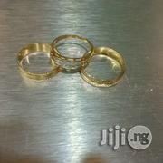 Tested 18 Karat Solid Gold Wedding Ring Set | Wedding Wear for sale in Lagos State, Lagos Island