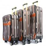 4 Wheel Trolley Luggage (Stripe Design) | Bags for sale in Lagos State