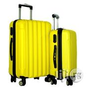 4 Wheel ABS Yellow Travel Luggage Bags | Bags for sale in Lagos State
