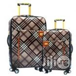 4 Wheel Fashion Plaid Luggage 2-piece Set | Bags for sale in Lagos State