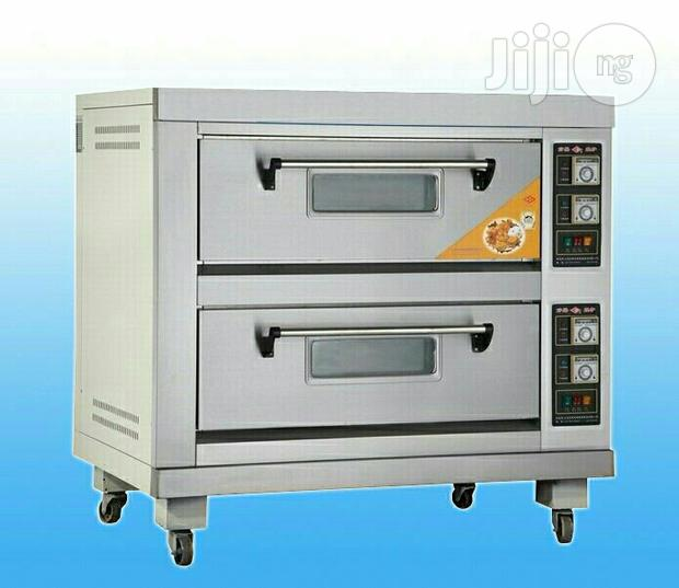 4 Trays Deck Oven