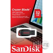 Sandisk Cruzer Blade USB Flash Drive 32GB | Computer Accessories  for sale in Lagos State, Ikeja