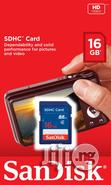 Sandisk SDHC Memory Card 16gb | Accessories for Mobile Phones & Tablets for sale in Ikeja, Lagos State, Nigeria