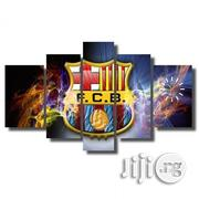 F.C.Barcelona Canvas Wall Art Clock | Home Accessories for sale in Lagos State, Lagos Mainland