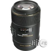 Canon Sigma 105mm F/2.8 EX DG OS HSM Macro Lens For Canon EOS Cameras | Accessories & Supplies for Electronics for sale in Lagos State
