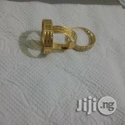 Solid ITALY 750 Pure Gold Wedding Ring Set | Wedding Wear for sale in Lagos State