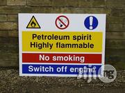 Safety Sign Printing, Design And Installation | Safety Equipment for sale in Lagos State, Ibeju