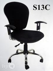 Secretary Fabric Swivel Office Chair (S13C) For Sale | Furniture for sale in Lagos State, Surulere