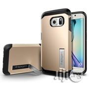 Spigen Tough Armor Galaxy S7 Edge Case | Accessories for Mobile Phones & Tablets for sale in Lagos State