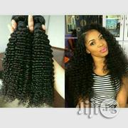 """Italian Curls Human Hair 16""""(3bundles) With Closure 