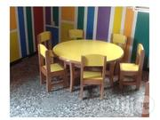 Table And Chairs For Playgroup (Wooden)   Furniture for sale in Lagos State, Ikeja