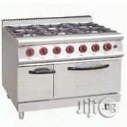 6 Burber Gas Cooker With Oven | Restaurant & Catering Equipment for sale in Lagos State, Ojo