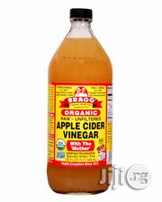 Organic Raw Filtered Apple Cider Vinegar-32 FL OZ (Big Size) | Vitamins & Supplements for sale in Lagos State, Magodo