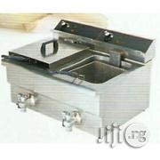 Double Basket Deep Fryer With Tap | Restaurant & Catering Equipment for sale in Lagos State, Ojo