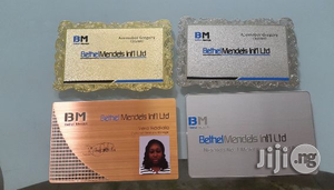 Metal Complimentary Business Cards