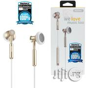 Remx 305M 3.5mm Metal Headphone With Mic For iPhone And Android | Headphones for sale in Lagos State