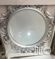 Briana Floral Silver Wall Mirror | Home Accessories for sale in Lagos State