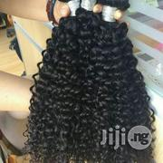 Mongolia Virgin Deep Curls 24inches Color1b Grade 9a | Hair Beauty for sale in Lagos State, Lagos Mainland