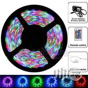 LED Strip Tape Light - 5meters 5050RGB Remote Controlled - 24 Keys | Home Accessories for sale in Lagos State, Lagos Mainland