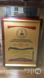 Award Plaque With Good Branding | Arts & Crafts for sale in Lagos State, Ikeja