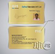 Metal I.D Cards(Gold Plated) | Computer & IT Services for sale in Lagos State, Ikeja