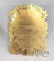 Metal Invitation Cards | Wedding Venues & Services for sale in Lagos State