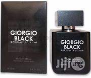 Black Special Edition By Giorgio Perfume For Men Edp | Fragrance for sale in Lagos State, Ikorodu