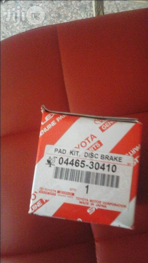 Brake Pad For All Toyota And Lexus Vehicles