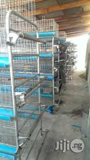 Dekoraj Semi Automatic H Type Battery Cage With Waste Deflector | Farm Machinery & Equipment for sale in Lagos State, Ojo