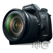 Canon EOS 7D Mark II DSLR Camera With 18-135mm F/3.5-5.6 STM Lens   Photo & Video Cameras for sale in Lagos State