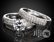 Women Classic Style Queen Wedding and Engagement Ring - Silver | Wedding Wear for sale in Lagos State, Ikeja